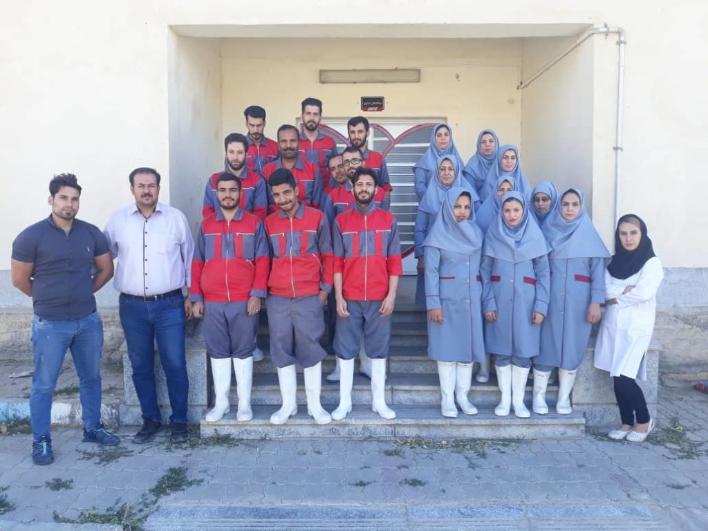 A group of Grandis factory personnel in September 2017